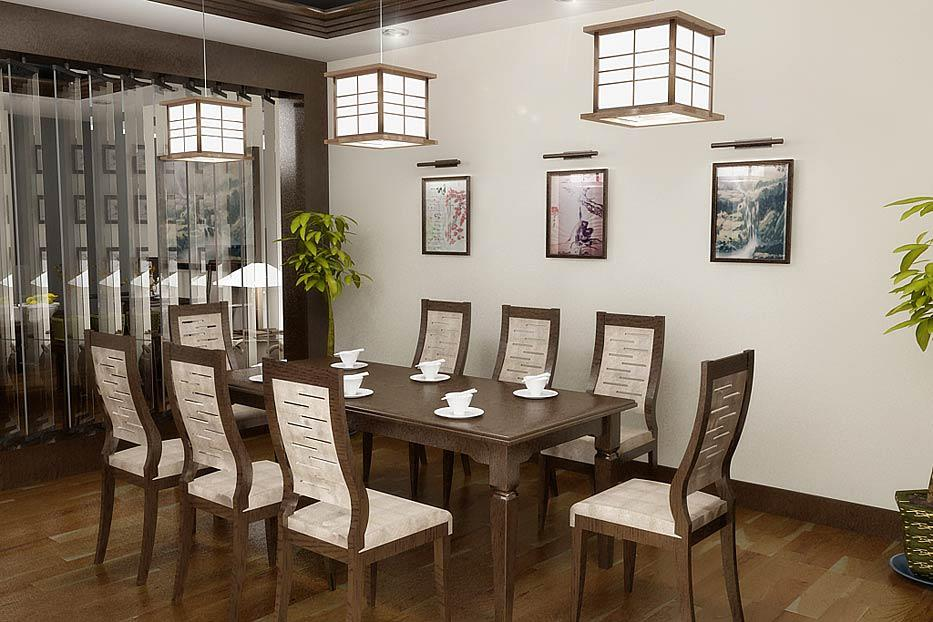 Dining room design ahsan associates for Dining room elevation